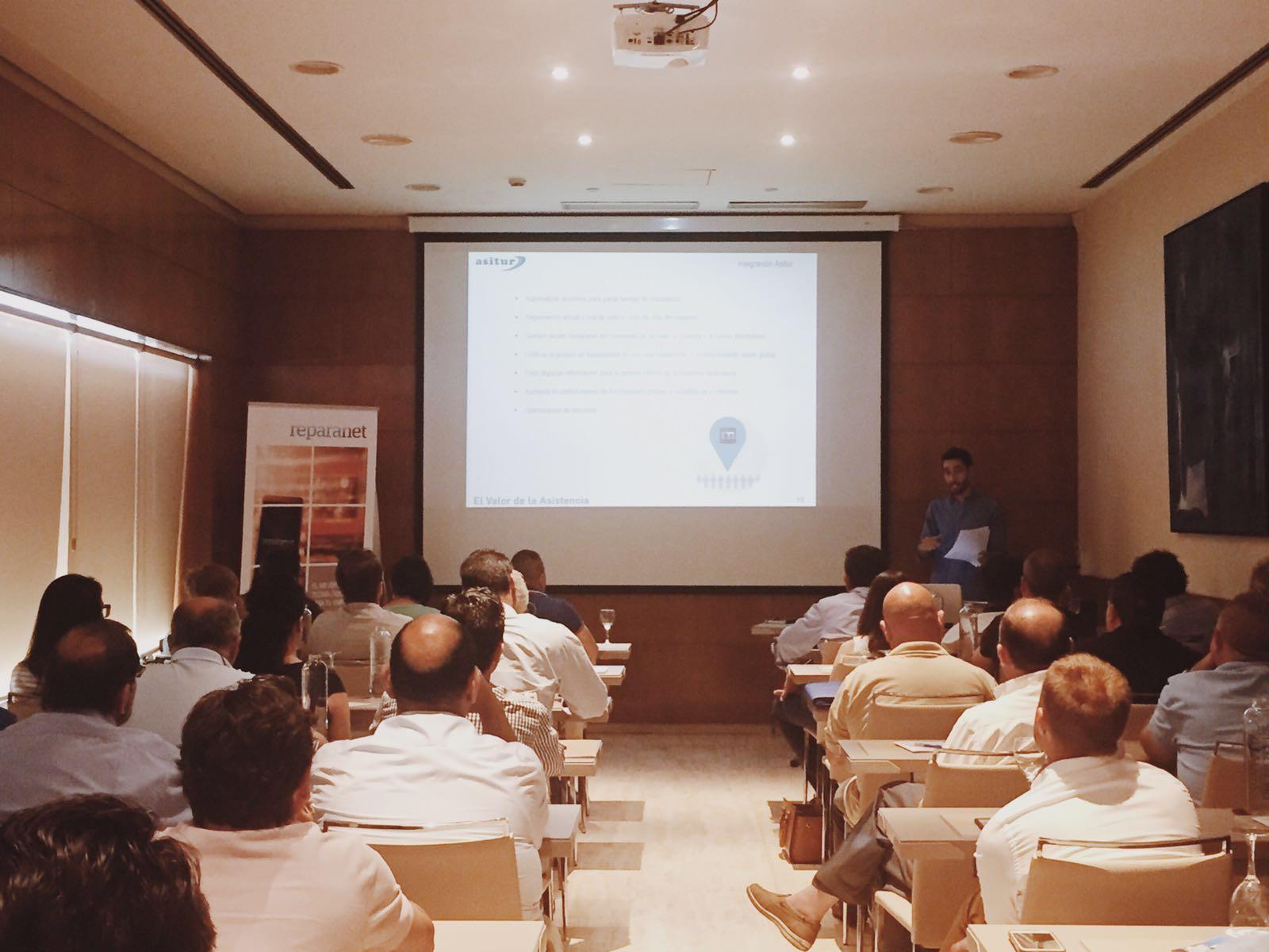 Asitur presenta Reparanet a sus proveedores como solución de tramitación online